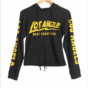 On Fire 1989 Los Angeles Hooded Top
